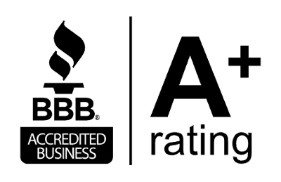 bbb better business bureau accredited with a plus rating